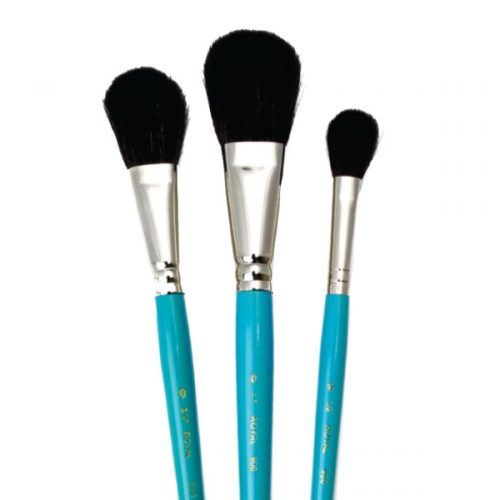 Set 3 pensule mop fir natural Camel Royal Brush Set X
