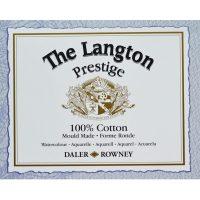 Coli hartie acuarela bumbac Langton Prestige Daler-Rowney UK