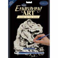 Set-gravura-efect-fosforescent-Royal-&-Langnickel---Tyrannosaurus-Rex