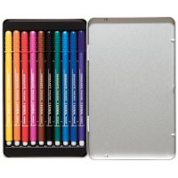 Set 10 linere colorate LYRA GRADUATE FINELINER cutie metalica1