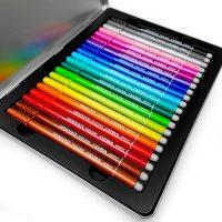 Set 20 linere colorate LYRA GRADUATE FINELINER cutie metalica 1