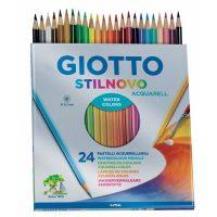 Set 24 creioane acuarelabile Giotto Stilnovo Acquarell pictura
