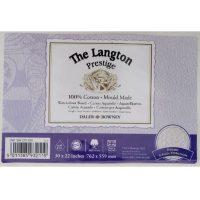 Carton acuarela 600g Langton Prestige Rough panou decupabil