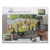 Set pictura POMA3 - O duminica de vara pe insula Grande-Jatte
