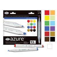 Set marker 13 piese Royal Langnickel Azure Basic pentru grafica