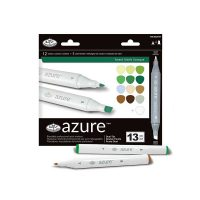 Set-markere-Royal-&-Langnickel-Azure-13-piese-–-Forest
