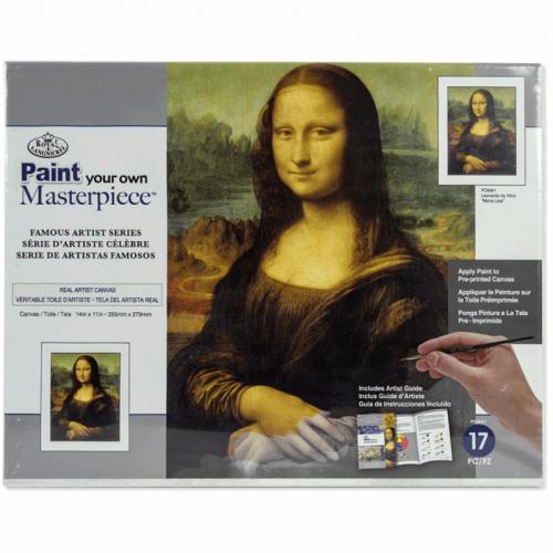 Set pictura Paint Your Own Masterpiece - Mona Lisa Leonardo da Vinci