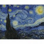 Set pictura grisaille POMA4 - Noapte instelata panza pe sasiu