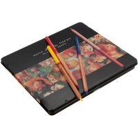 Set 24 creioane colorate Marco Renoir pentru grafica si desen