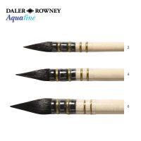 Pensula rotunda acuarela fir sintetic Daler-Rowney Aquafine Pointed Wash AF24