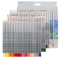 Set de 72 de creioane colorate pentru desen, cu mina rezistenta de 3,3 mm