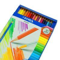 36 creioane acuarelabile Lyra Osiris+ 1 pensula