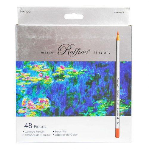 set-48-creioane-colorate marco Raffine