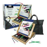 Trusa-desen-cu-sevalet-si-geanta-Royal-Essentials