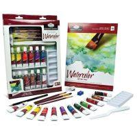 Trusa pictura culori acuarela Essentials 21 de piese RD845L