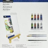 REA5404 trusa-pictura-acrilic-13-piese-si-sevalet Royal Langnickel