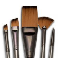 Set 5 pensule fir sintetic seria Zen™ RZEN-SET731 Royal Brush