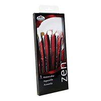 Set 5 pensule acuarela seria Zen™ RZEN-SET835 Royal Langnickel