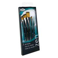 Set-5-pensule-fir-sintetic-Stroke-seria-Zen-RZEN-SET733