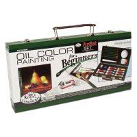 Trusa pictura in ulei pentru incepatori Royal Langnickel RSET-OIL3000