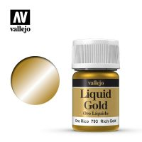 metal lichid vallejo 35 ml