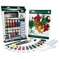 Trusa pictura culori ulei Essentials 21 de piese RD846L