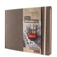 Toned Watercolour Book Beige 30 coli 200g