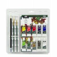 Set culori ulei si accesorii Royal & Langnickel 15 piese