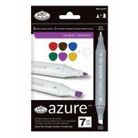 Set markere Royal & Langnickel Azure 7 piese - Opulent Color