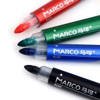 Marker whiteboard cu varf rotund Marco