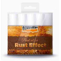 Set-vopsele-acrilice-pentru-efect-de-rugina,-Pentart-5-x-20-ml