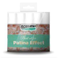Set-vopsele-acrilice-pentru-efect-patina,-Pentart-5-x-20-ml