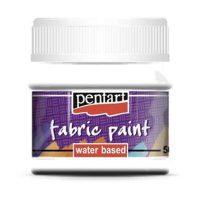 Vopsea-pentru-textile,-Pentart-50ml,-Alb