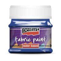 Vopsea-pentru-textile,-Pentart-50ml,-Albastru