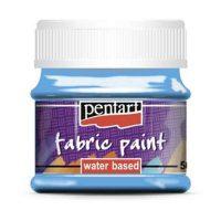 Vopsea-pentru-textile,-Pentart-50ml,-Albastru-deschis