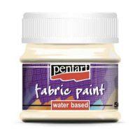 Vopsea-pentru-textile,-Pentart-50ml,-Bej