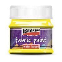 Vopsea-pentru-textile,-Pentart-50ml,-Galben