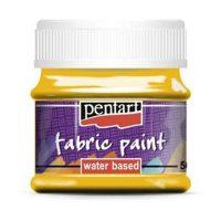 Vopsea-pentru-textile,-Pentart-50ml,-Galben-soare