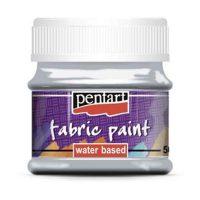 Vopsea-pentru-textile,-Pentart-50ml,-Gri