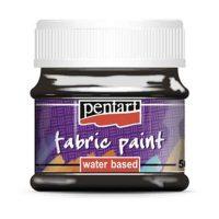 Vopsea-pentru-textile,-Pentart-50ml,-Negru