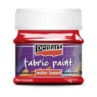 Vopsea-pentru-textile,-Pentart-50ml,-Rosu