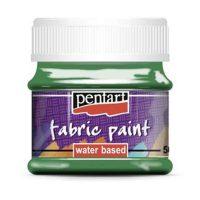 Vopsea-pentru-textile,-Pentart-50ml,-Verde
