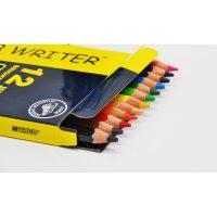 Set 12 creioane colorate Jumbo + 1 ascutitoare Superb Writer, Marco