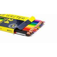 Set 24 creioane acuarela + 1 pensula Superb Writer, Marco