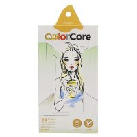 Set de 24 creioane colorate + 1 creion grafit Marco ColorCore