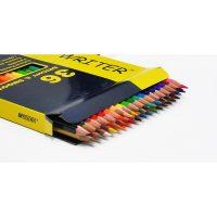 Set 36 creioane acuarela + 1 pensula Superb Writer, Marco
