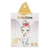 Set de 36 creioane colorate + 1 creion grafit Marco ColorCore
