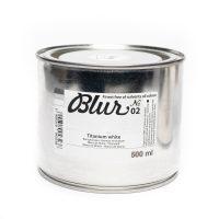Culori ulei, Renesans BLUR, 500ml, 02 Titanium White