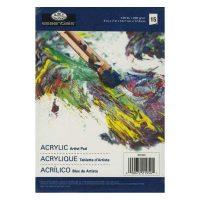 Bloc-pentru-culori-acrilice-Royal-&-Langnickel-200g,-format-12,7-cm-x-17,8-cm