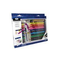 Trusa-pentru-desen-si-colorat-Essentials-29-de-piese1